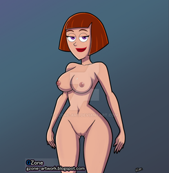 Maddie Fenton in nude by GZone-art