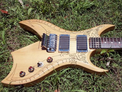 remake of BC Rich guitar body by Ar-Pharazon