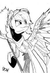Mercy from Overwarch by DSC-the-Artist