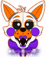 Funtime Lolbit Head by FuntimesAreOver