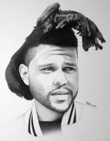 The Weeknd by FromPencil2Paper