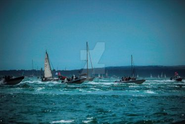 Portsmouth boat race by sweetlave
