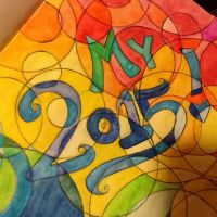 Front page of my 2015 notebook by Amazinadrielle