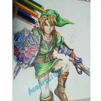 finished. link from legend of zelda by AceArtz1001