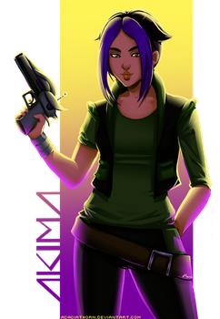 Obscure Fandoms Time: Akima from Titan A.E. by Acaciathorn