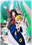 commission - Tsukushi and Zatch Bell by Red-Romanov