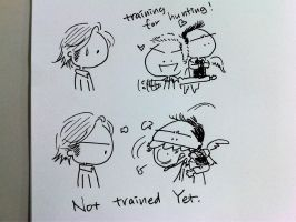 Not Trained Yet by worrynet
