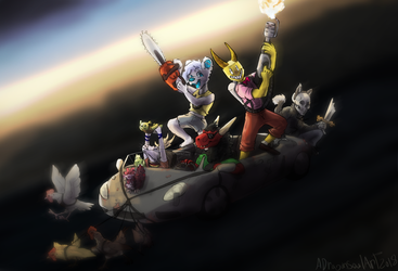 Chaos powered by Chickens by ADragonSoulArt