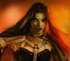 Vamp Queen by Lady-ObsidiAnne