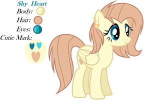 Next Gen #27Shy Heart by EmaBases