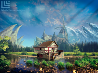 Fantasy place... by Lensar