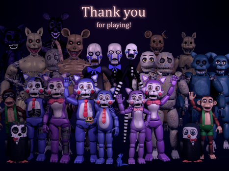 Five Nights at Candy's 3 - Thank You by Emil Macko by Rodri-14
