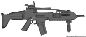 New combat rifle by Gods-warfighter