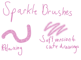 Sparkle Brushes 4 FireAlpaca by TheYummyPie