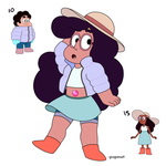 Stevonnie #10 and #15 by popinat