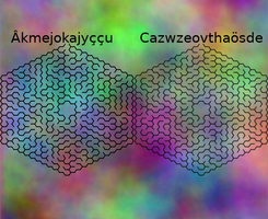 Topological mazes, layer 1 by Jakeukalane