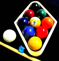 BILLIARDS POOL 9 NINE BALL by TEOFAITH