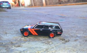 Datsun Bluebird 510 Wagon by MannuelAlegria