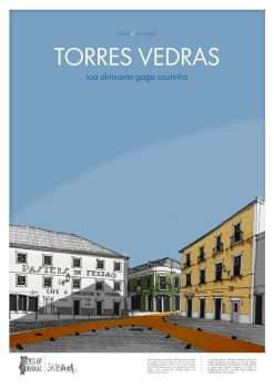 CITIES OF PORTUGAL - Torres Vedras 4 by Stillsketch