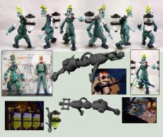 EGON PEOPLEBUSTER FIGURE Prototype by TemptingTradgedy