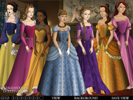Disney Princesses - Tudors Dollmaker by dollmake