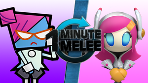One Minute Melee What If - Nastasia VS. Susie by DrevFortress2