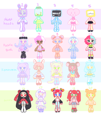 [ mixed adopts ] - [CLOSED] by hello-planet-chan