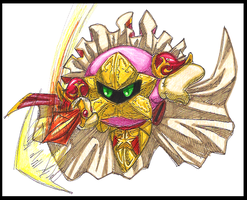 Kirby's attack by PurpleRAGE9205