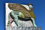 Winged Guardian Of The Date Palm Empire by aegiandyad