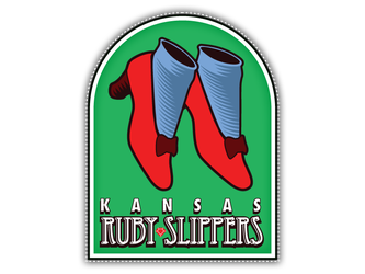 Kansas City Ruby Slippers Logo by garald4