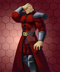 M. Bison Hair Slicked Back