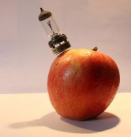 Stock 0083 - Steampunk Apple by EverythingIsInStock