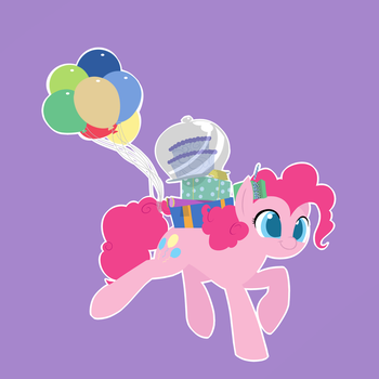Pinkie Brings the Party to You by Dreatos