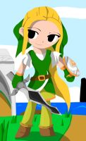 Wind Waker Lady by Lady-of-Link