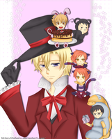 Ouran - Tea party by nyharu