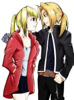 The Elric and the Rockbell by Takeuchi15