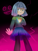 Amber - glitchtale by larisa203