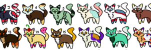 Cat Adopts (OPEN) by fishdoq