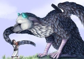 The Last Guardian by Woxolf