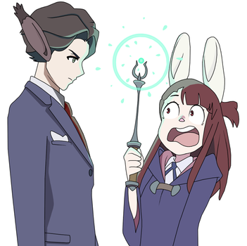 Little Witch Academia by AskAlease