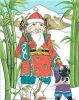 Oriental Santa Claus by RHPotter