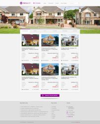 Real Estate Agency Homepage by 2NiNe