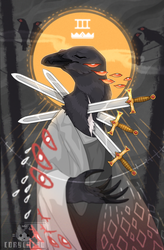 Three of Swords by corycatte