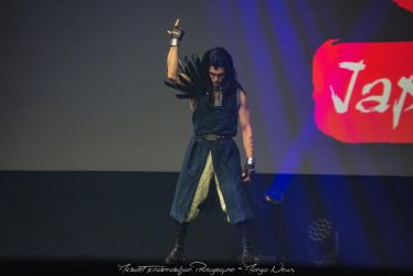 Gajeel Redfox - Fairy Tail - Cosplay at Japan Expo by Carancerth