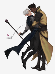 Fael and Dorian by nipuni