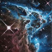 Monkey Head Nebula by crazycolleeny