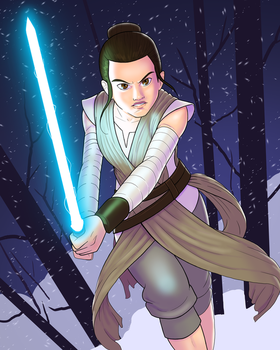 Rey Practice by Cadhla182