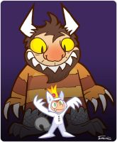 Where the Wild Things Are by waffledawg