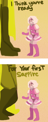 Pink's first Sapphire Comic by emilybunnysoft