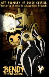 BatIM - A1-IC3 as the Projectionist by PlayboyVampire